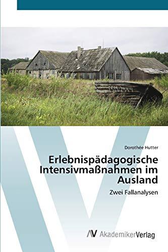 9783639430530: Erlebnispädagogische Intensivmaßnahmen im Ausland: Zwei Fallanalysen (German Edition)