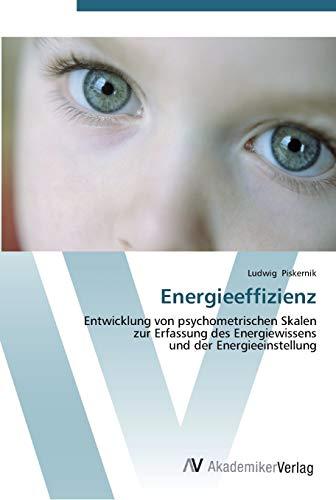 Energieeffizienz: Entwicklung von psychometrischen Skalen zur Erfassung des Energiewissens und der ...