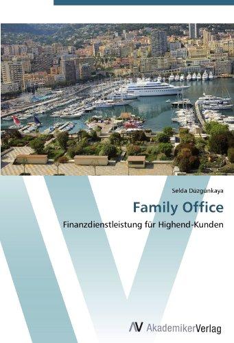 9783639442199: Family Office: Finanzdienstleistung f�r Highend-Kunden