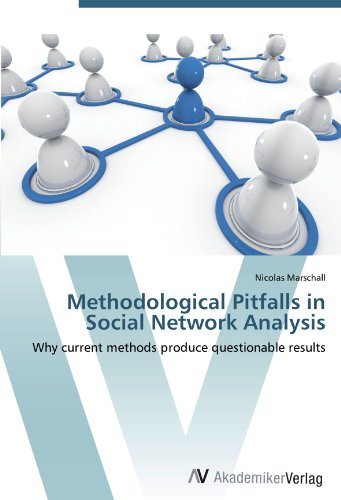 9783639448849: Methodological Pitfalls in Social Network Analysis: Why current methods produce questionable results