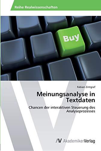 Meinungsanalyse in Textdaten: Fabian Zintgraf