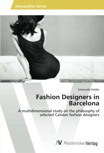 Fashion Designers in Barcelona: Emanuela Holder