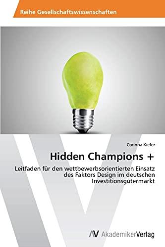 9783639497502: Hidden Champions +