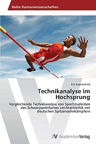 9783639499148: Technikanalyse Im Hochsprung