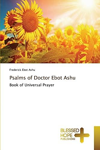 9783639500592: Psalms of Doctor Ebot Ashu