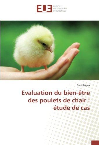 Evaluation du bien-être des poulets de chair: Jaajaa, Said