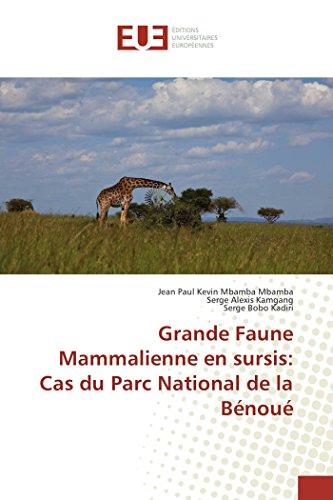 Grande Faune Mammalienne en sursis: Cas du: Mbamba Mbamba, Jean