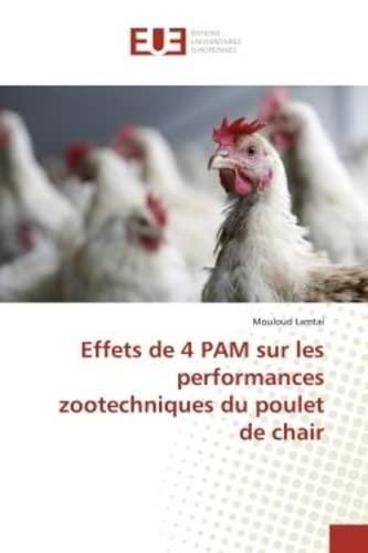 Effets de 4 PAM sur les performances: Lamtai, Mouloud