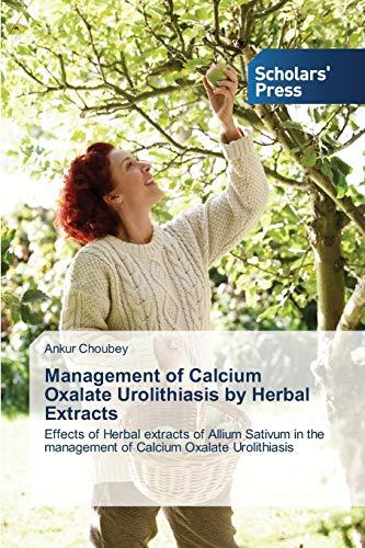 Management of Calcium Oxalate Urolithiasis
