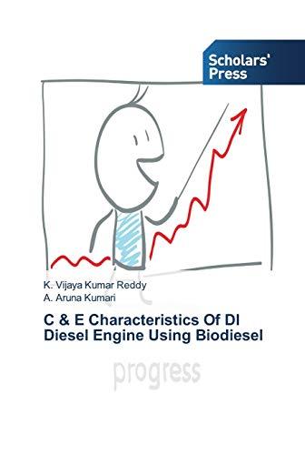 C & E Characteristics Of DI Diesel: Reddy, K. Vijaya