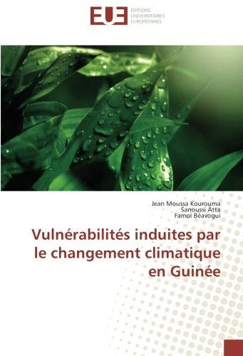 9783639523577: Vulnérabilités induites par le changement climatique en Guinée (French Edition)