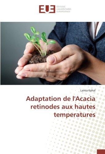 Adaptation de l'Acacia retinodes aux hautes temperatures (Paperback): Lamia Kehal