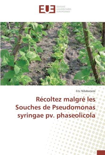 Récoltez malgré les Souches de Pseudomonas syringae pv. phaseolicola (Paperback): ...