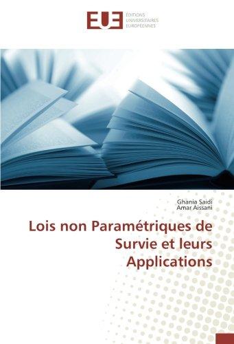 Lois non Paramétriques de Survie et leurs: Saidi, Ghania /