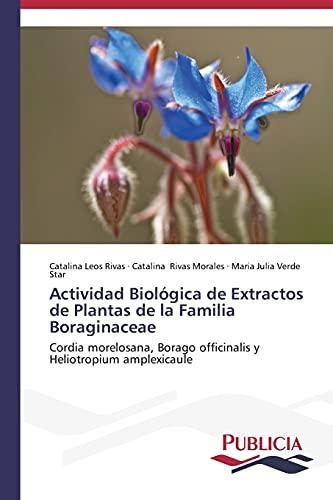 Actividad Biologica de Extractos de Plantas de: Leos Rivas Catalina