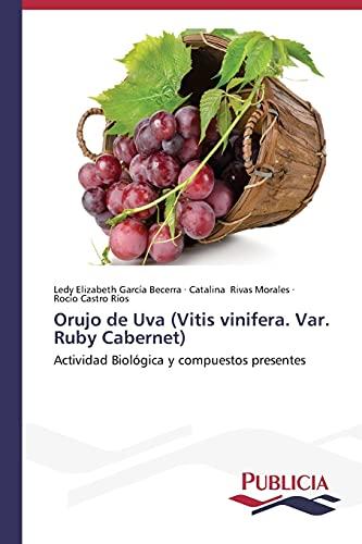 Orujo de Uva (Vitis Vinifera. Var. Ruby: Garcia Becerra Ledy