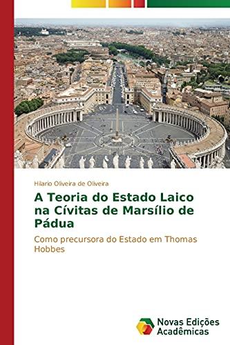 A Teoria Do Estado Laico Na Civitas: Oliveira De Oliveira