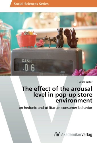 9783639628272: The effect of the arousal level in pop-up store environment: on hedonic and utilitarian consumer behavior