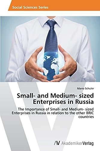 Small- and Medium- sized Enterprises in Russia: Mario Schuler