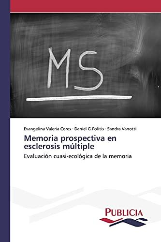 9783639649222: Memoria prospectiva en esclerosis múltiple