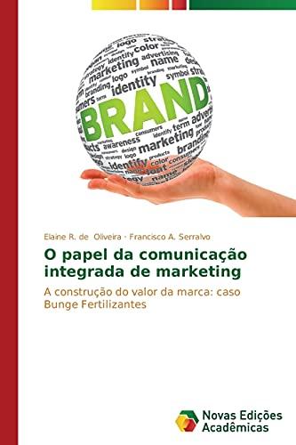 O Papel Da Comunicacao Integrada de Marketing: Oliveira Elaine R