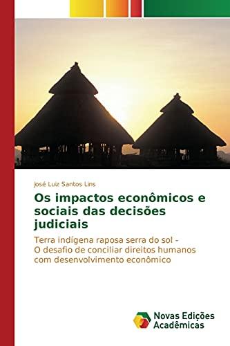 Os impactos econômicos e sociais das decisões: Lins, José Luiz