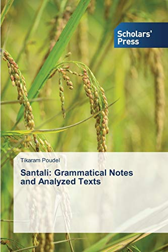 9783639762808: Santali: Grammatical Notes and Analyzed Texts
