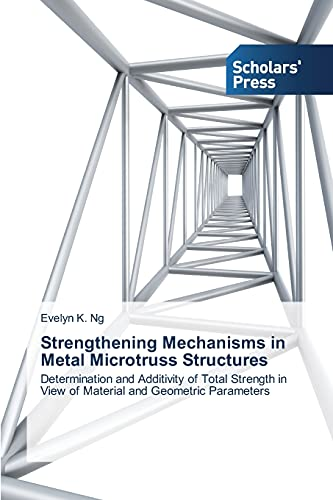9783639765106: Strengthening Mechanisms in Metal Microtruss Structures