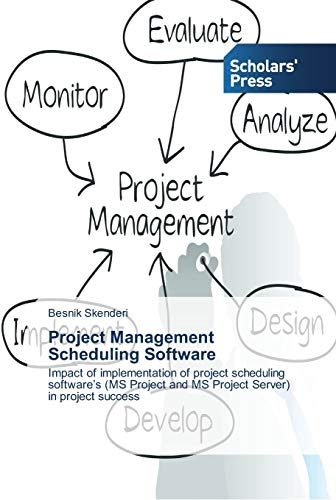 9783639766103: Project Management Scheduling Software