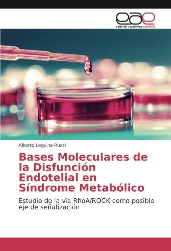 Bases Moleculares de la Disfunción Endotelial en Síndrome Metabólico: Estudio de la vía RhoA/ROCK ...
