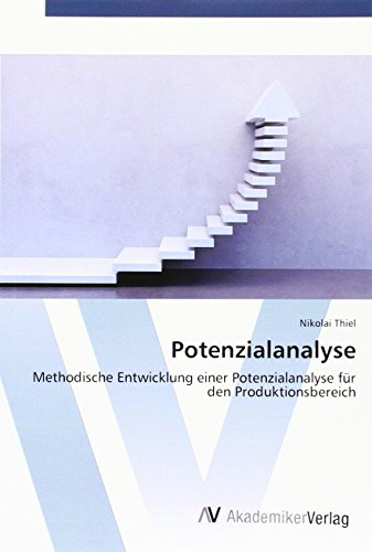 9783639789478: Potenzialanalyse: Methodische Entwicklung einer Potenzialanalyse für den Produktionsbereich