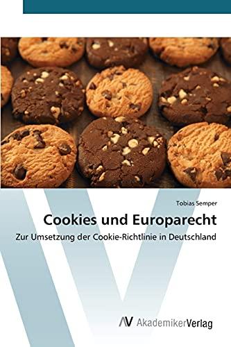 9783639806854: Cookies und Europarecht (German Edition)