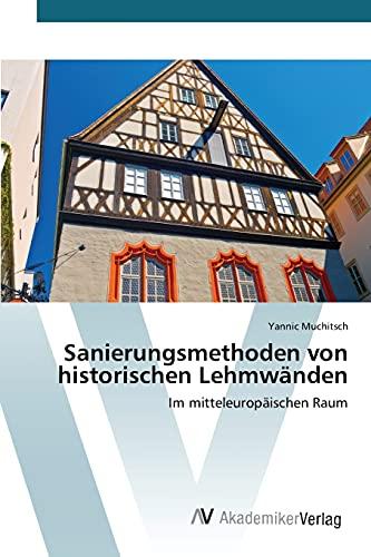 9783639806946: Sanierungsmethoden von historischen Lehmwänden (German Edition)