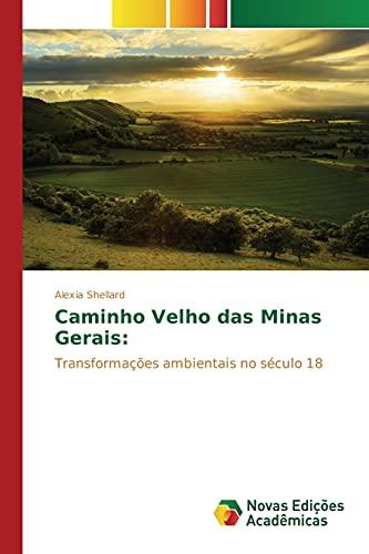 9783639830712: Caminho Velho das Minas Gerais (Portuguese Edition)