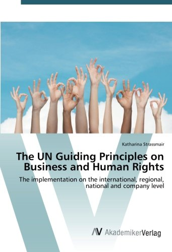 9783639843156: The UN Guiding Principles on Business and Human Rights: The implementation on the international, regional, national and company level