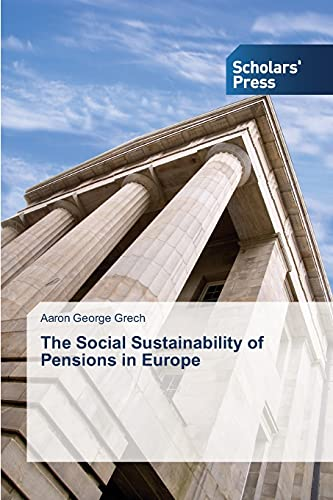 9783639859553: The Social Sustainability of Pensions in Europe