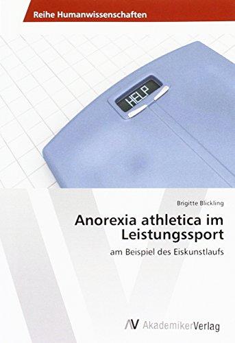 9783639873917: Anorexia athletica im Leistungssport: am Beispiel des Eiskunstlaufs