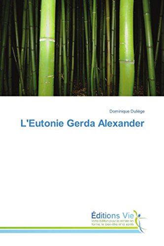 9783639883336: L'Eutonie Gerda Alexander (Omn.Vie) (French Edition)