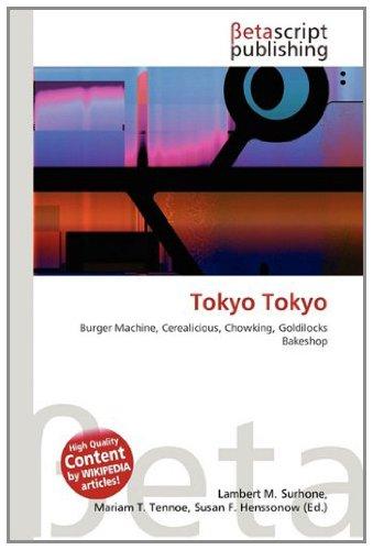 9783639929485: Tokyo Tokyo
