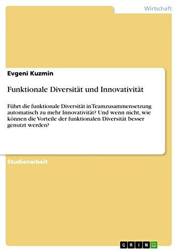 Funktionale Diversitat Und Innovativitat: Evgeni Kuzmin