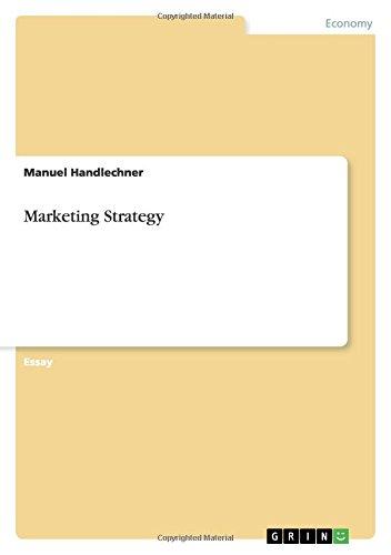 Marketing Strategy: Manuel Handlechner