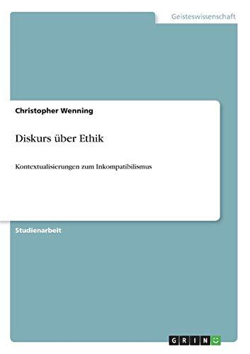 Diskurs Uber Ethik: Christopher Wenning