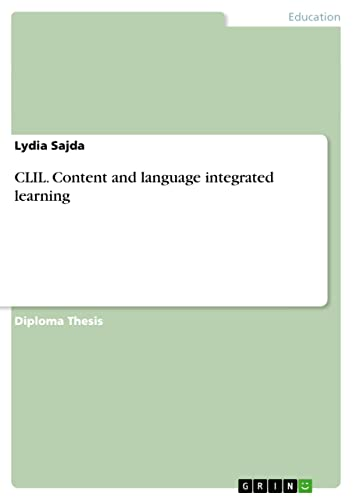 Content and language integrated learning - CLIL
