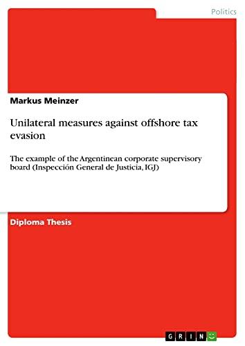 Unilateral measures against offshore tax evasion: Markus Meinzer