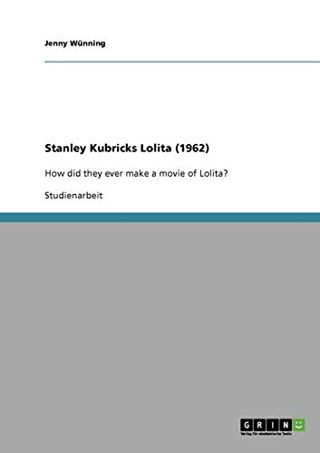 Stanley Kubricks Lolita (1962): Jenny Wünning