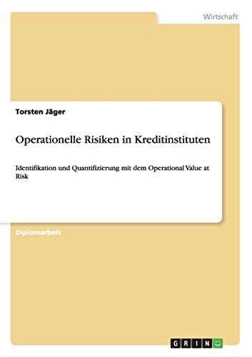 9783640213047: Operationelle Risiken in Kreditinstituten