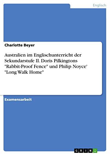9783640238040: Australien im Englischunterricht der Sekundarstufe II. Doris Pilkingtons