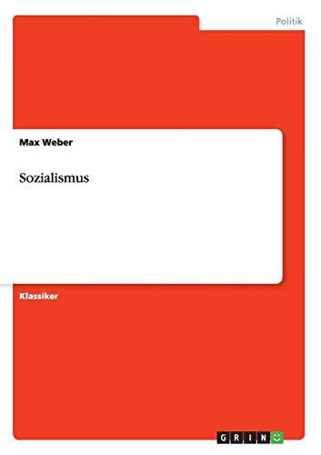 9783640238996: Sozialismus (German Edition)