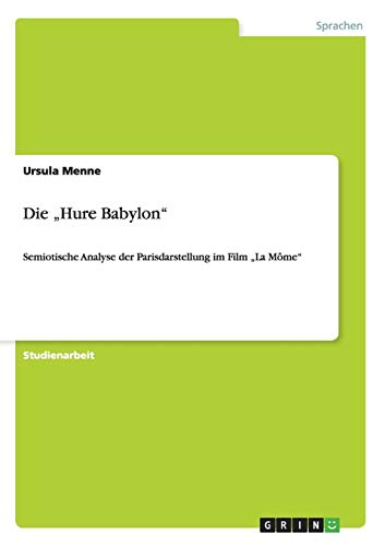 "9783640246120: Die ""Hure Babylon"" (German Edition)"