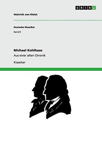 9783640252411: Michael Kohlhaas